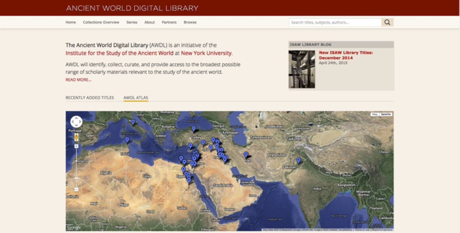 The new AWDL with the AWDL Atlas, which allows user to browse visually by geography.